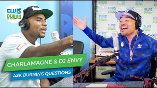 Charlamagne Tha God and DJ Envy Ask Their Burning Questions | Elvis Duran Show