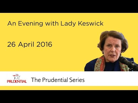An Evening with Lady Keswick