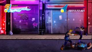 Double Dragon Neon (Gameplay)