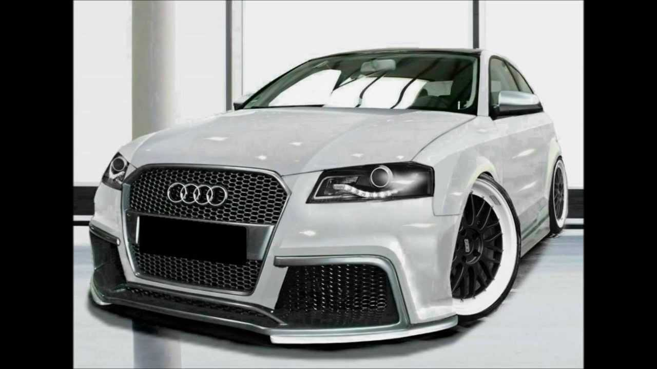 audi a3 8p tuning body kit youtube. Black Bedroom Furniture Sets. Home Design Ideas