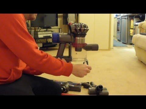Demo, Part 1 - Dyson V8 Total Clean cordless handstick vacuum - Overview / Features