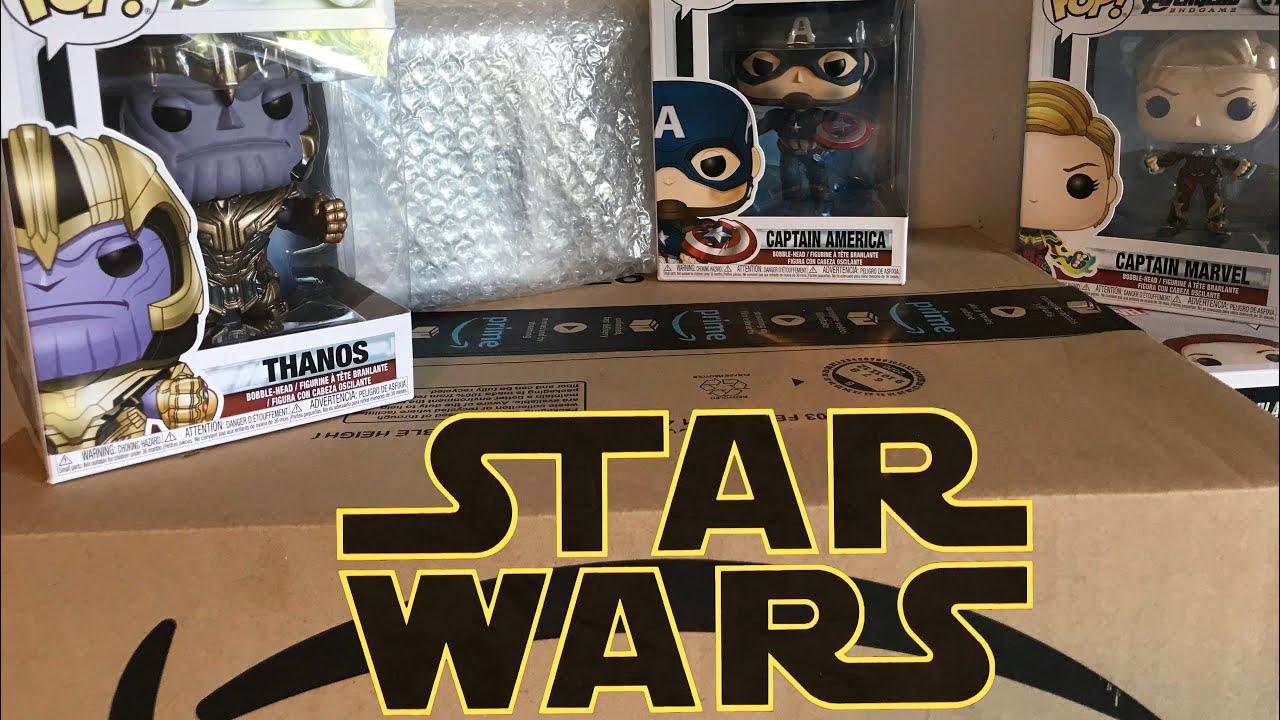 Lego Star Wars Amazon haul + pop figures