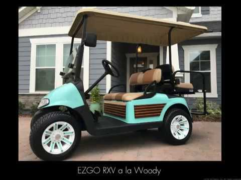 Woody Golf CART a la NASCARTS - YouTube on 2002 chrysler gem cart, car cart, box cart,