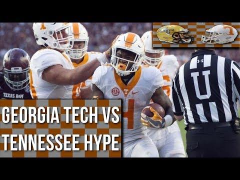 Tennessee vs Georgia Tech Hype   HD