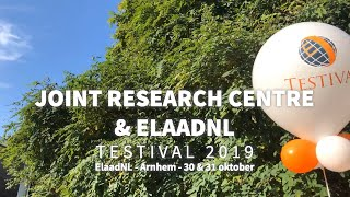 Signing collaboration between the JRC and ElaadNL during the Testival 2019
