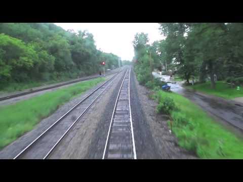 Amtrak Mississippi River Run: Pt. 5 - Winona to La Crosse
