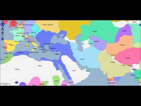 Middle East, West Asia and Europe 1430 - 1835 - YouTube