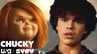 Chucky Introduces Himself To Jake | Chucky TV Series (S1 E1) | USA Network & SYFY