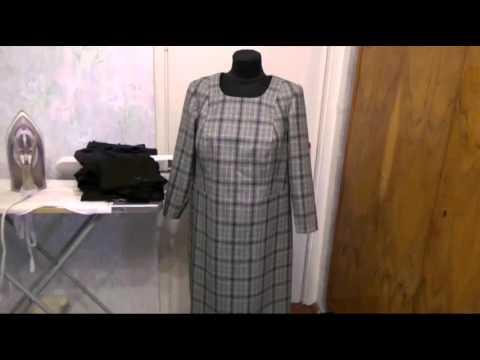 #262.Платье в клетку