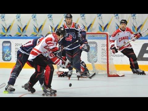 Canada Vs. USA - 2015 IIHF Inline Hockey World Championship