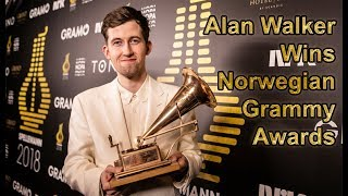 Alan Walker wins 2018 Norwegian Grammy Awards (with multi language subtitles)