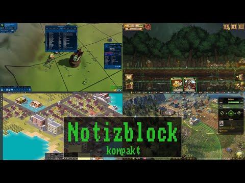 Notizblock Kompakt #079: MMO RPG Tycoon 2 | Ratropolis | Smart City Plan | Surviving The Aftermath