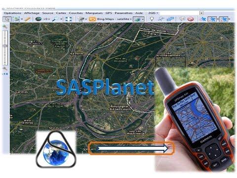SASPlanet Export Satellite Image Map For Garmin GPS