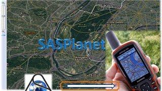 SASPlanet export Satellite image map for Garmin GPS screenshot 1