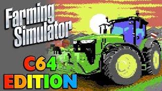 Farming Simulator | C64 Edition | First Look Gameplay