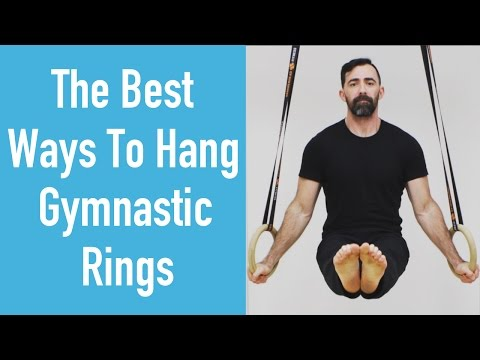 Best Ways To Hang Gymnastic Rings