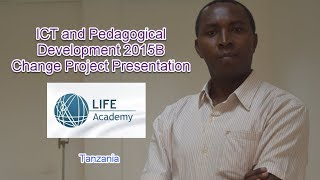 ICT and Pedagogical Development 2015B Change Project Lucian Ngeze
