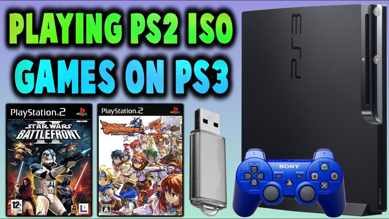 Playing PS2 ISO Games On PS3! Using USB! (ManaGunz & multiMAN)