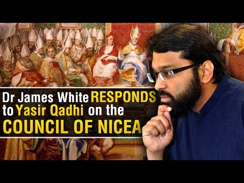 Dr. James White corrects Yasir Qadhi on the Council of Nicaea