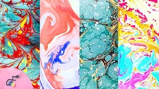 How to do Paper Marbling | Fatema's Art Show