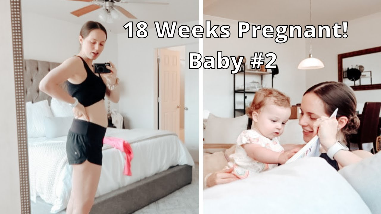 18 WEEK BABY BUMP UPDATE! | How I'm Feeling With Baby #2
