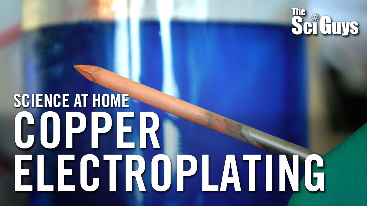 Copper Electroplating - The Sci Guys: Science at Home