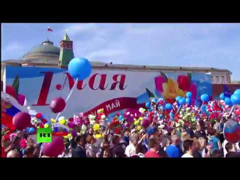 Russia May 1st Parade, Red Square 2017