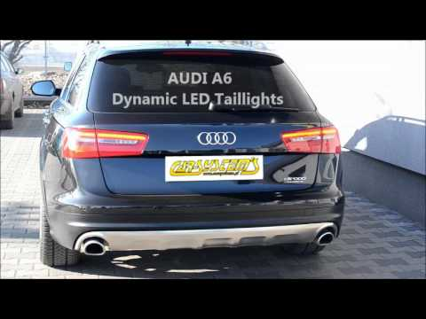audi a6 allroad dynamic led turn lights dynamischer. Black Bedroom Furniture Sets. Home Design Ideas
