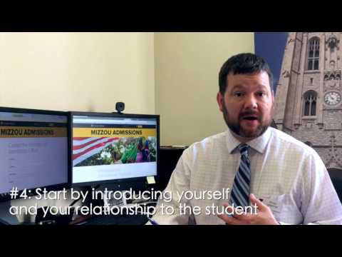 Tips from Admissions: Writing Recommendation Letters Mp3