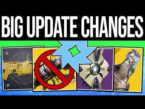 Destiny 2 | HUGE APRIL UPDATE & EXOTIC CHANGES! Wardcliff Nerf, New Drop Rates, Quests & Sandbox! thumbnail