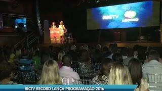 Baixar RICTV Record SC lança programação 2016