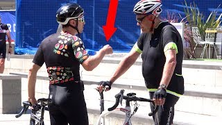 TROLLING Cyclists Prank!