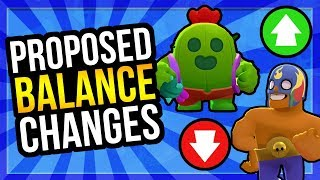 Proposed Balance Changes! Poco Nerf, El Primo Buff?! [Brawl Stars]