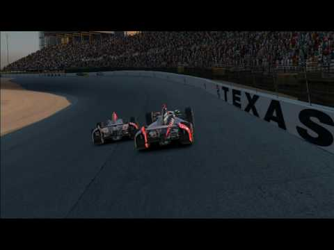 iRacing @ Texas Indy fixed Holding my line