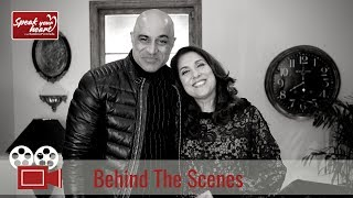 Faran Tahir | Behind The Scenes | Speak Your Heart With Samina Peerzada