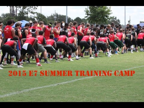 685 Issac Johnson, Zephyrhills Christian Academy 2016 WR - 2015 E7 Summer Training Camp