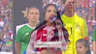 Jules Aurora - National Anthem LIVE @ The Rose Bowl (UWNT vs. Ireland)