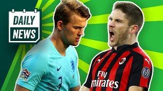 Matthijs de Ligt sagt Barca ab! Kramarić zum AC Mailand? Pogba will wohl zurück zu Juventus!
