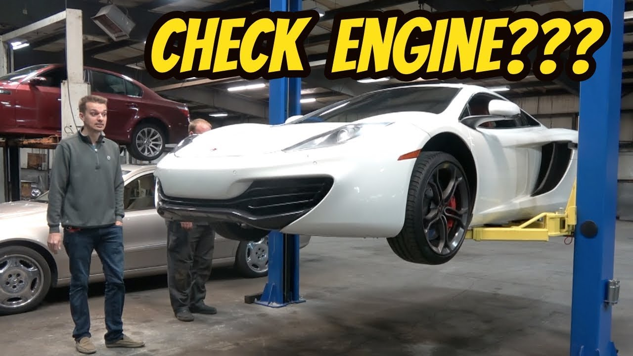 My Cheap McLaren  MP4-12c is Broken Already-- But Things Could be Worse...