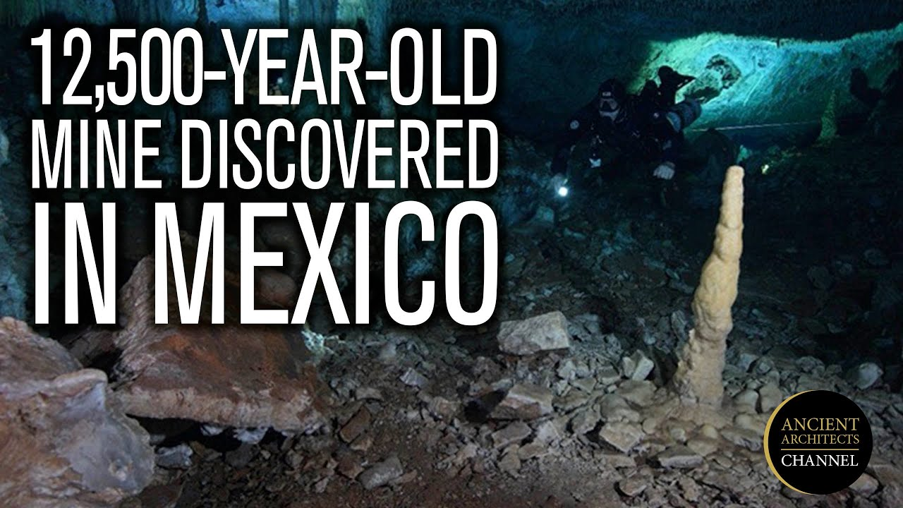 12,500-Year-Old Ochre Mine Discovered in Mexico | Ancient Architects