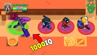 1000IQ MORTIS vs NOOB TEAM 🎩 Brawl Stars Wins, Glitches, Funny Moments & Fails