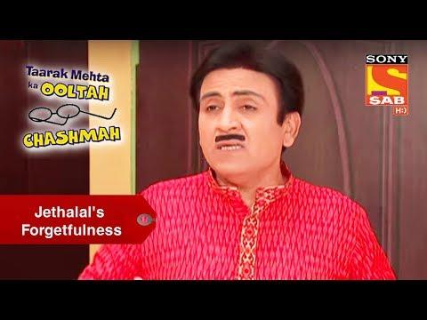 Jethalal's Forgetfulness   Taarak Mehta Ka Ooltah Chashmah