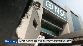 India Eases IPO Rules for Startups
