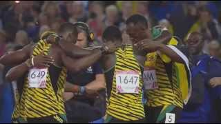 Usain Bolt 4x100 World Record 2014 37.58 (JAMAİCA) | Unmissable Moments