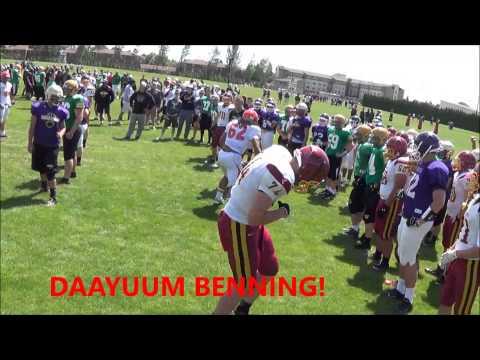 KING BENNING OF CWU CAMP 2014