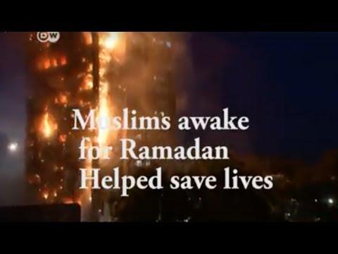 Muslims fasting for Ramadan and saving lives following teachings of ISLAM