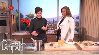 Kris Jenner Cooks Up A Sentimental Meal | The Queen Latifah Show
