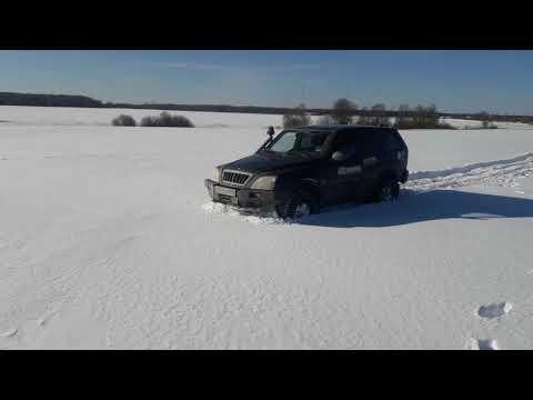 Тагаз в снегу