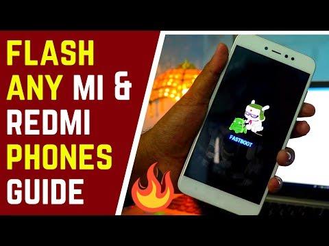 How to Flash Any Xiaomi Phone using Mi Flash Tool | Hindi