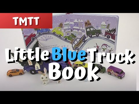 Little Blue Truck...Books in Speech Therapy for Toddlers